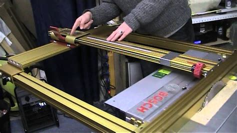 Part 14: Fitting the Incra Table Saw Fence to A Bosch PTS