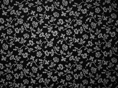 Backgrounds - Black And White Flowers Wallpaper - iPad