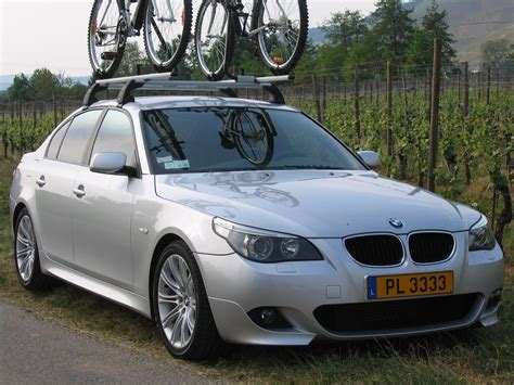 factory roof-rack on my E60 installed - 5Series