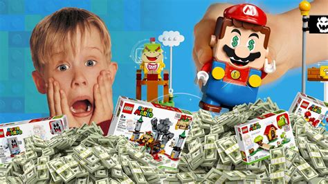 The LEGO Super Mario Sets Cost $590+ to Collect - Up at