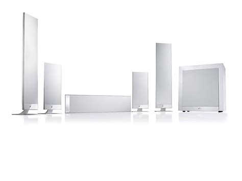 KEF T205 Heimkinosystem in weiss - Thomas Electronic
