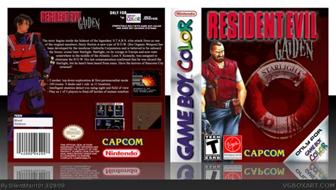 Resident Evil: Gaiden Game Boy Color Box Art Cover by
