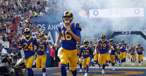 Rams give first hint of 2020 uniform changes