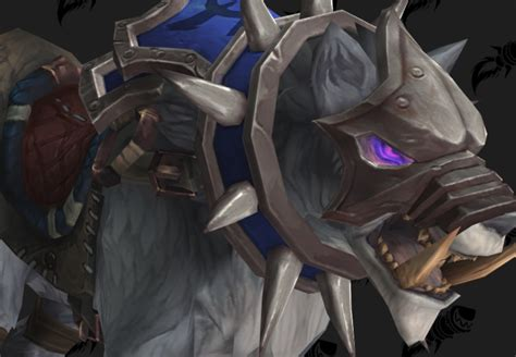 Frostwolf Snarler - 15th Anniversary Mount Preview