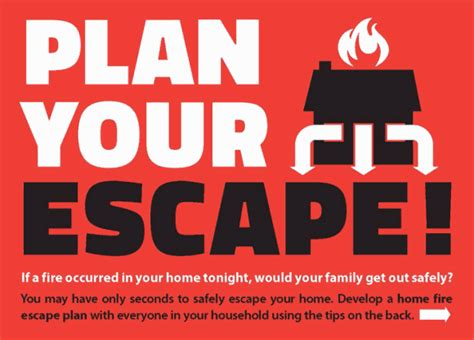 Home Fire Escape Planning   Ministry of the Solicitor General