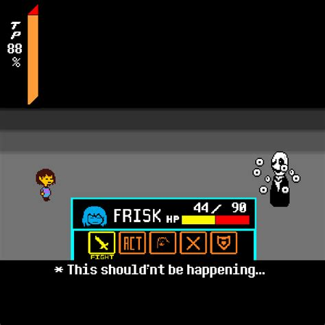 """Deltarune Gaster Fight: """"Dying over 17 times to Gaster's"""