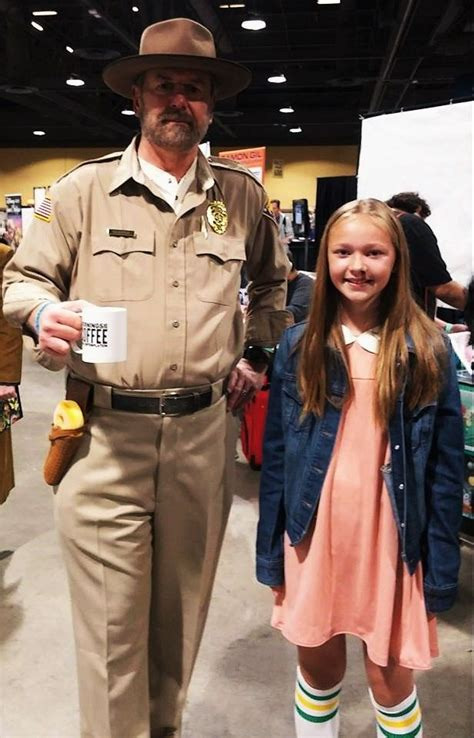 At Long Beach Comic Expo 2018, Chief Jim Hopper with