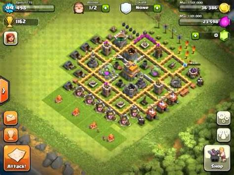 Clash of the clans setup - YouTube