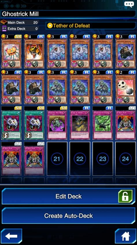 Yu-Gi-Oh! Duel Links: Building A Ghostrick Deck | Player