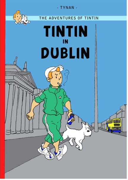 Would You Like A Print Of The Dublin/Cork Tintin Cover