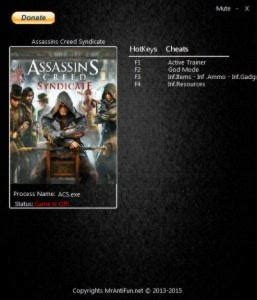 Assassin's Creed: Syndicate Trainer +6 v1
