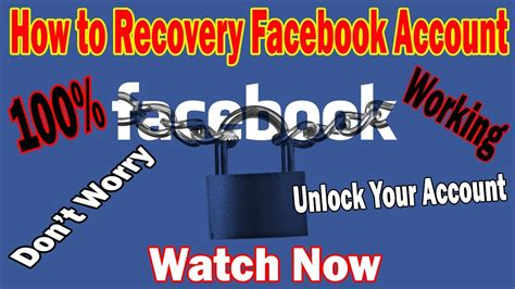 How to Recovery Facebook Account || FB Password Recover
