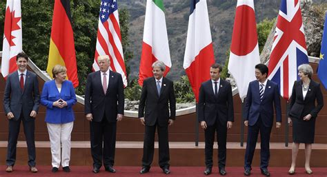 Trump meets with G7 leaders - POLITICO