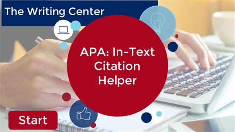 APA: Citing Within Your Paper   Ashford Writing Center