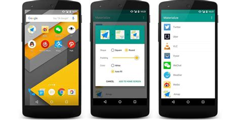 [How To] Convert your app icons to Material Design on Android
