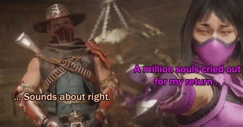 'A million souls cried out for my return' - Mileena's